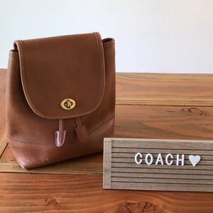Vintage COACH drawstring backpack 🎒